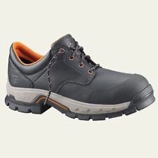 Timberland PRO Shoes Mens Stockdale Alloy Safety Toe Black Work Shoe