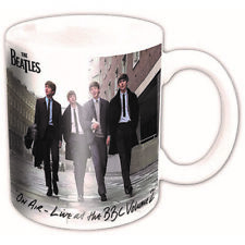 The Beatles Live At The BBC Volume 2 Boxed Coffee Gift Mug Album Cover Official