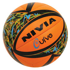 Nivia Curve Machine Stitch TPU Volleyball Training Ball, Size 4- Choose Color