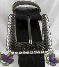 My handmade women buckle swarovski crystals RETRO style Italian belt as a GIFT O