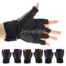 Men Bicycle Hiking Motorcycle Outdoor Sports GEL Half Finger Cycling Gloves