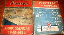 1949 1950 1951 1952 1953 1954 Pontiac Service Shop Repair Manual DEALERSHIP ORIG