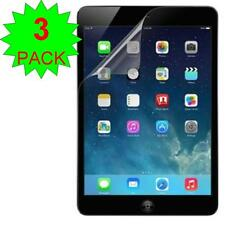 3X Clear Screen Protector Film Guard Shield Cover For iPad mini 1/2/3 Air 1/2