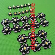1-100pcs 3W white High Power Led Light Bead Chip 3 Watt wam white/cool white