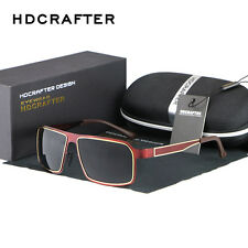 Mens Sports Driving Aviator Polarized Sunglasses Brand Designer Eyewear Shades