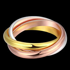 925 Sterling Silver Filled Ring Fashion Womens Costume Jewelry Wholesale