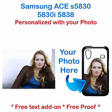 Personalized Phone Case w/ your picture photo logo for Samsung Galaxy ACE s5830