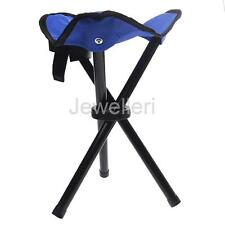 Camping Fishing Travel Portable Foldable Small Tripod Folding Seat Stool Chair