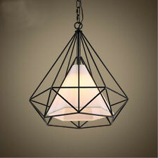 Designer Metal Diamond Fitting Pendant Lamps Ceiling Lights Hanging Modern Decor