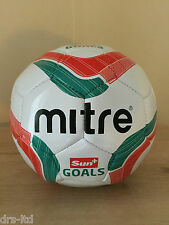NEW Mitre Ace 32 Panel PVC Recreational Football Size 3 White/Red/Green