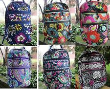VERA BRADLEY Tech Backpack Laptop TAGS College Retail $108 FREE SHIPPING
