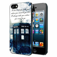 Tardis Doctor Who Smoke Quotes Custom Phone Case for iPhone 6 PLUS 6 5 5s 4 4s