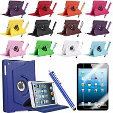 iPad Air IPad 2 3 4 Cover Leather Folio 360° Rotating Smart Case Stand
