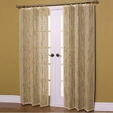 Bamboo Window Panel Curtain Drape with Grommet Ring Top Panel Curtains New