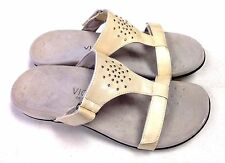 Orthaheel Vionic Patricia T-strap Sandal. Adj straps. Arch support. PREOWNED