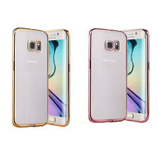 For Sumsung S6 Edge Plus S7 Edge Soft TPU Silicone Beautiful Phone Case Cover