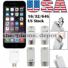16GB/32GB/64G USB HD i-Flash Drive U Disk Memory Stick For iOS iPhone MAC PC