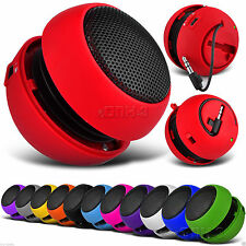 3.5mm Mini Capsule Travel Rechargeable Speaker
