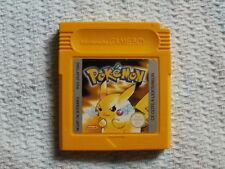 Pokemon Yellow Version (Game Boy Color 1996)-France- Cleaned with NEW Battery !