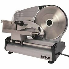 Stainless Steel Electric Meat Slicer Food Machine Cutter Deli Cheese Heavy Duty