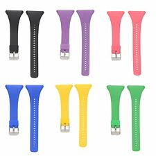 Silicone Wristband Watch Band Strap For POLAR FT4 FT7 Heart Rate Monitor Watch