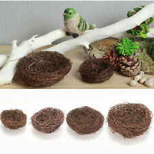 Bird Nest Faux Moss Home Nature Craft Holiday Decoration The Bird's Nest Newly