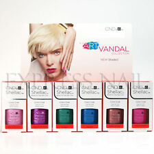 CND SHELLAC UV Gel Polish .25 oz / 7.3 ml Art Vandal Collection 2016 Spring NEW!