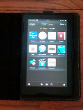 Amazon Kindle Fire HD 7,2nd Gen 16GB, Wi-Fi, 7in Android Tablet Black & case