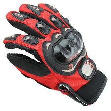 Pro-Biker Bike Racing Pro-Biker Motorcycle Gloves Motorbike Moto Motocross Fiber