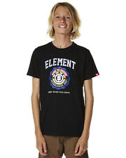 New Element Boys Kids Boys Thompson Tee Toddler Children Boys Black