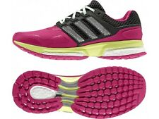 WOMENS ADIDAS RESPONSE BOOST 2 TECH-FIT LADIES RUNNING/FITNESS/RUNNERS SHOES
