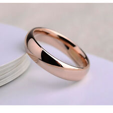 Mens Rose gold filled promise love ring size 5 6 7 9 10 11 13.5 wholesale