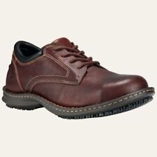 Timberland PRO Shoes Mens Gladstone ESD Steel Toe Oxford Brown Work Shoe 85590