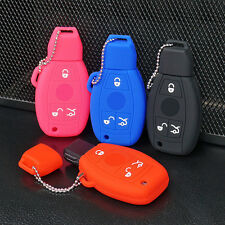 Silicone Key Fob Cover Case For Mercedes Benz Remote Case Smart Key protection