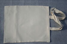 10 Plain Eco Natural Cotton Calico Shopping Bag/Totes with long handles 42*38