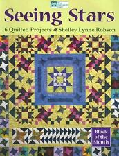 Seeing Stars : 16 Quilted Projects by Shelley Lynne Robson (2005, Paperback)