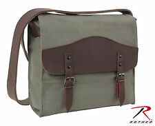 Rothco Vintage Canvas Medic Bag w/ Leather Accents - 9671