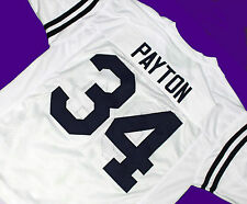 WALTER PAYTON - JACKSON STATE UNIVERSITY JERSEY WHITE  SEWN NEW ANY SIZE