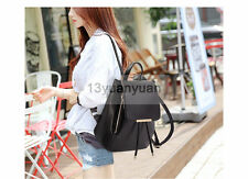 PU Leather Girls School Bags For Teenagers Top-handle Backpacks