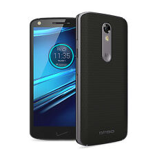 "MOTOROLA DROID TURBO 2 XT1585 BLACK/WHITE 3GB/32GB 5.4"" HD SCREEN ANDROID 5.1"