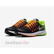 Shoes Nike Air Zoom Pegasus 33 GS 834316 004 Kid's Running Black Multicolor