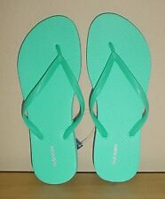 NWT Ladies FLIP FLOPS Old Navy Thong Sandals TURQUOISE Shoes SIZE 8M, 9M, 11M