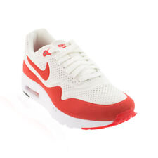 Nike - Air Max 1 Ultra Moire Casual Shoe - Summit White/Challenge Red/White