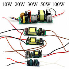 10W-100W High Power Driver Supply 85-265V Constant Current LED Light Chip Lamp
