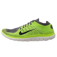 Nike Free 4.0 Flyknit Mens Running Shoes Run Sneakers 631053-003