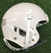 RAWLINGS MOMENTUM FOOTBALL HELMET- NO mask - WHITE YOUTH - New with Tags