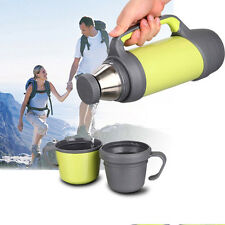 Stainless Steel Travel Kettle Drink Bottle Inox Cup Cafe Coffee Thermo Flask