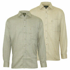 Mens Champion Country Check Long Sleeve Cartmel Shirts Farming Fishing Shooting