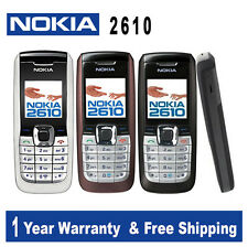 "Original Nokia 2610 GSM 1.6"" TFT LCD (English, Russian & Arabic)"