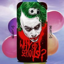 Joker Why So Serious Design for Samsung Galaxy Cover Case
